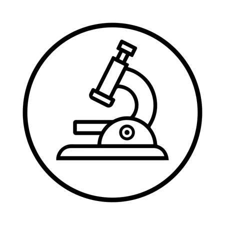 Microscope icon. Beautiful design and fully editable vector for commercial, print media, web or any type of design projects.