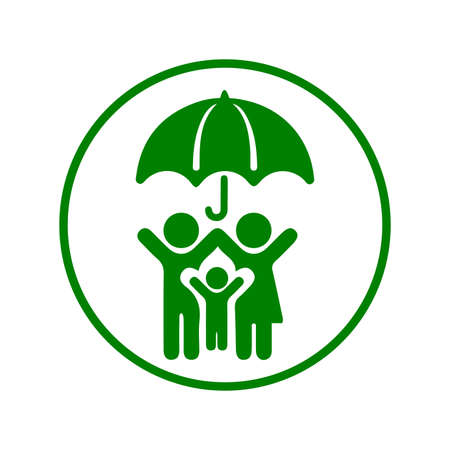 Protection, life insurance icon. Beautiful design and fully editable vector for commercial, print media, web or any type of design projects.