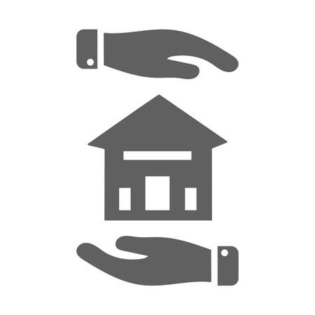 Protection, home insurance icon. Creative element design use in designing and developing websites, commercial, print media, web or any type of design projects. 矢量图像