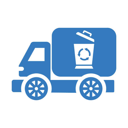 Garbage car icon. Beautiful, meticulously designed icon. Well organized and editable Vector for any uses.