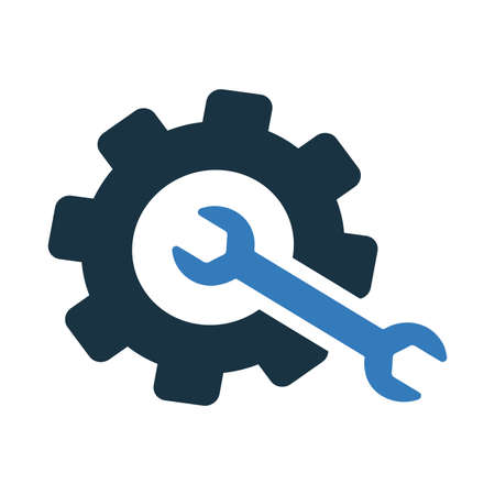 Repair, setting icon. Perfect for use in designing and developing websites, printed files and presentations, stock images, Promotional Materials, Illustrations or Infographic or any type of design projects. Ilustracja