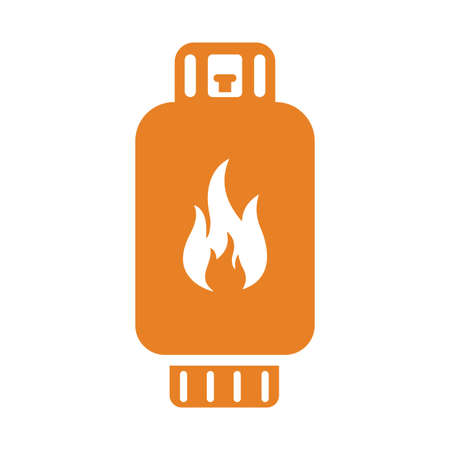 Gas cylinder,icon. Beautiful, meticulously designed icon. Well organized and editable Vector for any uses.