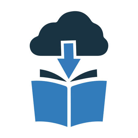 Cloud download icon. Beautiful design and fully editable vector for commercial, print media, web or any type of design projects.