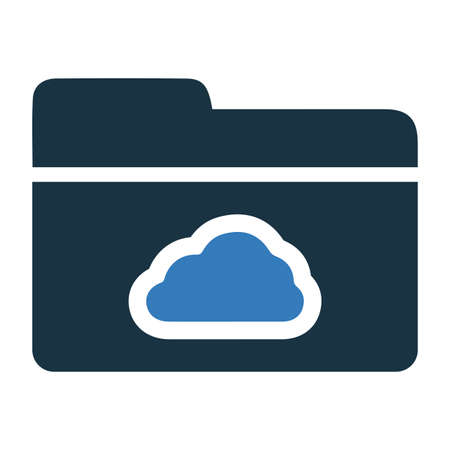 Cloud, data, folder icon. Beautiful design and fully editable vector for commercial, print media, web or any type of design projects.