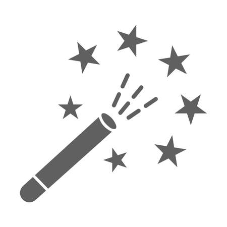 Wizard, Magic wand icon. Perfect for use in designing and developing websites, printed files and presentations, stock images, Promotional Materials, Illustrations or Infographic or any type of design projects.