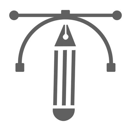 Anchor point, pen tool icon. Perfect for use in designing and developing websites, printed files and presentations, stock images, Promotional Materials, Illustrations or Infographic or any type of design projects.