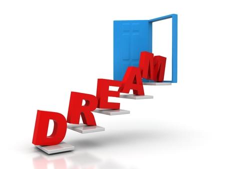 dream conceptual door