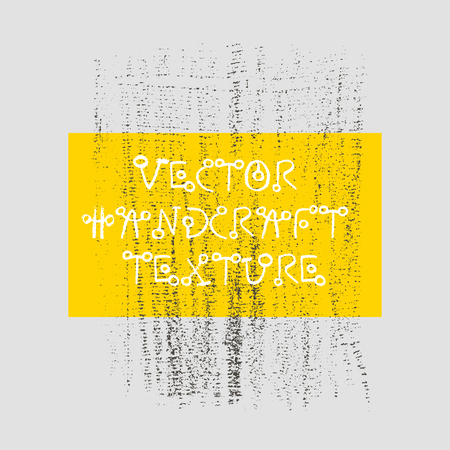 Pencil rough charcoal vector graphics for template banner with natural raw lines and curves. Grungy style and vintage abstract geometric effect. Stock Vector - 93531332