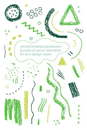 Organic label tag elements on white background with vector vegan icons, nature abstract signs, natures, veganism symbols, organic banner template for trendy design of healthy food, eco-product things.