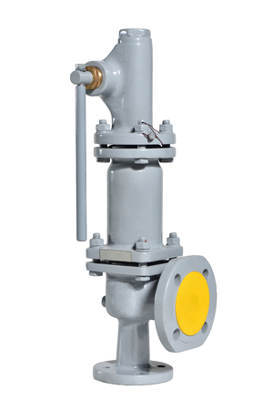 Automatic gray safety valve for water supply systems.. Spring valve