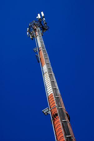 gsm: GSM tower Stock Photo