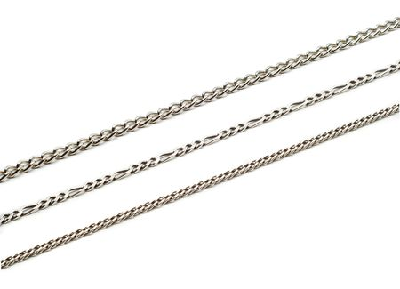 metal chains Stock Photo