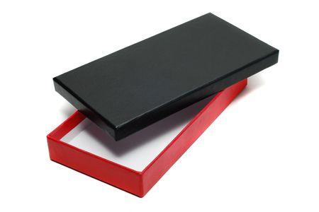 open cardboard box isolated Stock Photo - 4236674