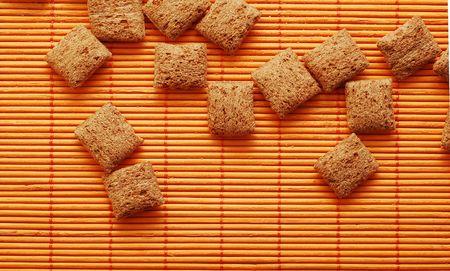 sweeties: sweeties on bamboo mat