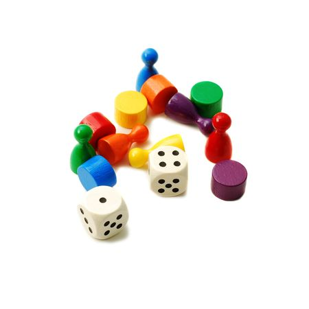 gaming pieces photo