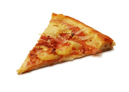 pizza slice Stock Photo - 5289355