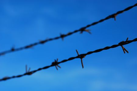 barbed wire Stock Photo - 5289362