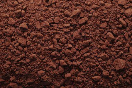 ココア: ココア パウダーの背景