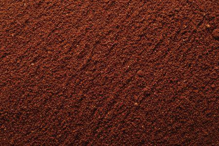 sugar powder: coffee powder background