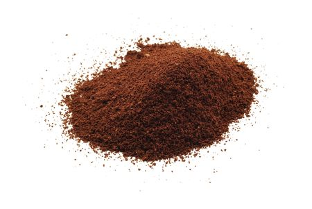 coffee powder isolated Stock Photo - 5445006
