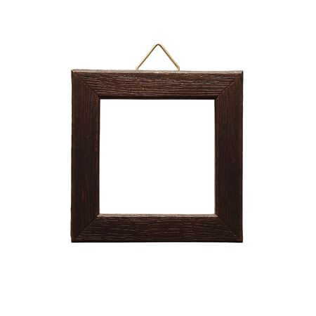 simple frame: empty frame isolated Stock Photo
