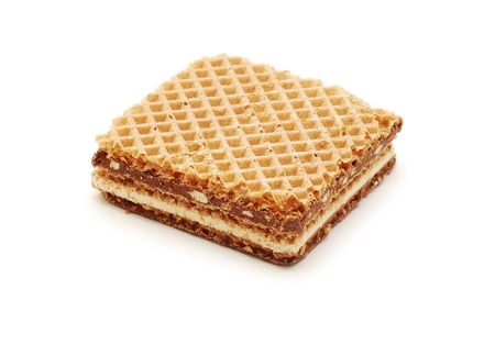 wafer with chocolate photo