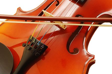 violin detail photo