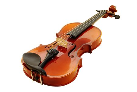 violins: violin Stock Photo