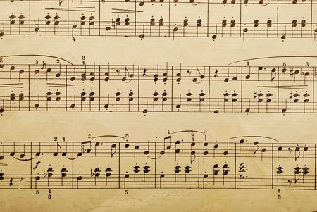 music paper sheet photo