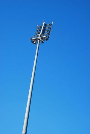 stadium lighting tower photo
