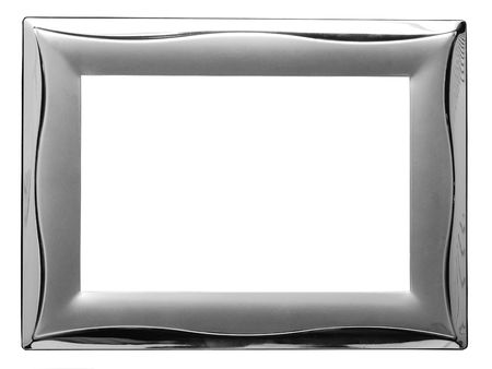 simple frame: empty metal frame
