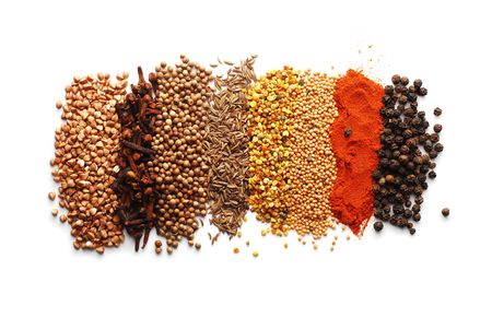 dry powder: spices