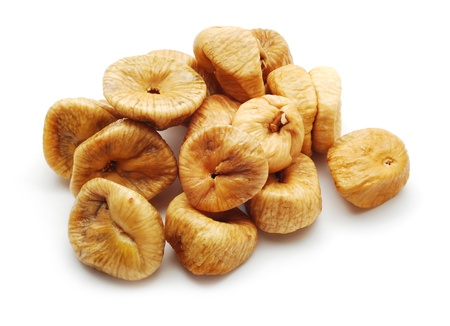 dried food: dry figs Stock Photo