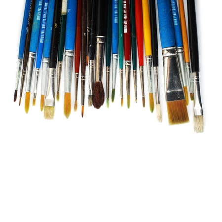 art and craft equipment: pinceles