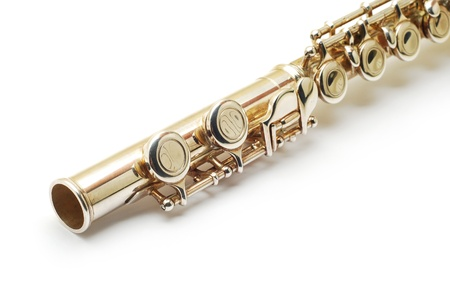 clarinet: flute detail Stock Photo