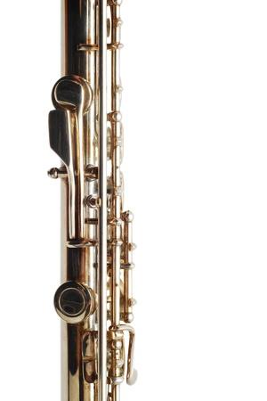 clarinet: detalle de la flauta