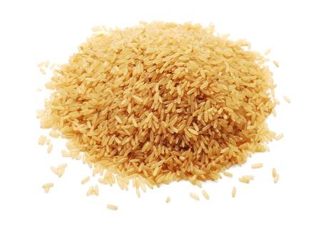 brown rice: rice