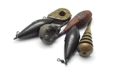 sinkers: fishing sinkers