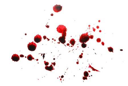 blood drops: blood stains