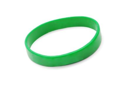 bracelet: rubber bracelet