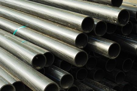 kunststoff rohr:  plastic pipes