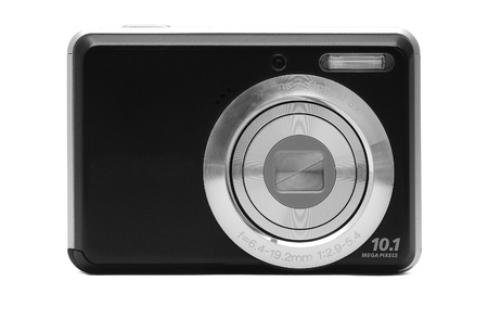 digital camera: pocket digital camera  Stock Photo