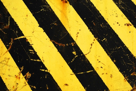hazard stripes Stock Photo - 10070631