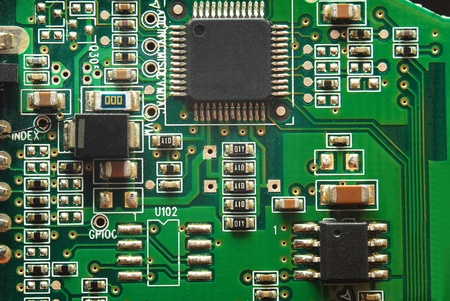 electronic background: circuit board