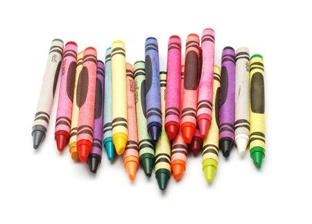 wax crayons  Standard-Bild