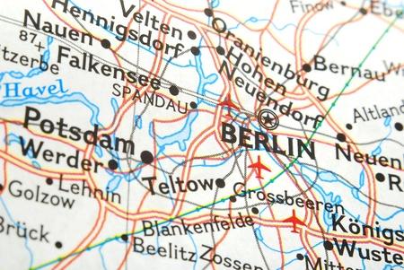 map of berlin Stock Photo - 10269120