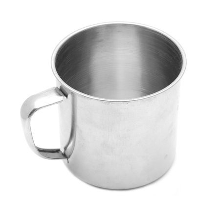 tin cup  Stock Photo - 10626610
