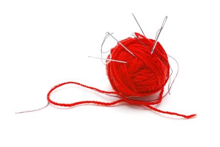 hilo rojo: elementos de costura