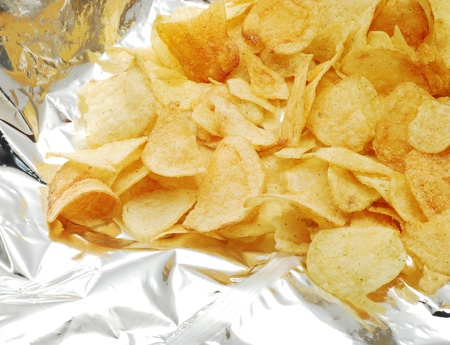 potato chip: potato chips Stock Photo