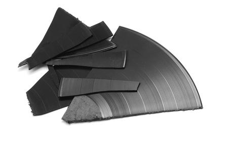broken vinyl  photo